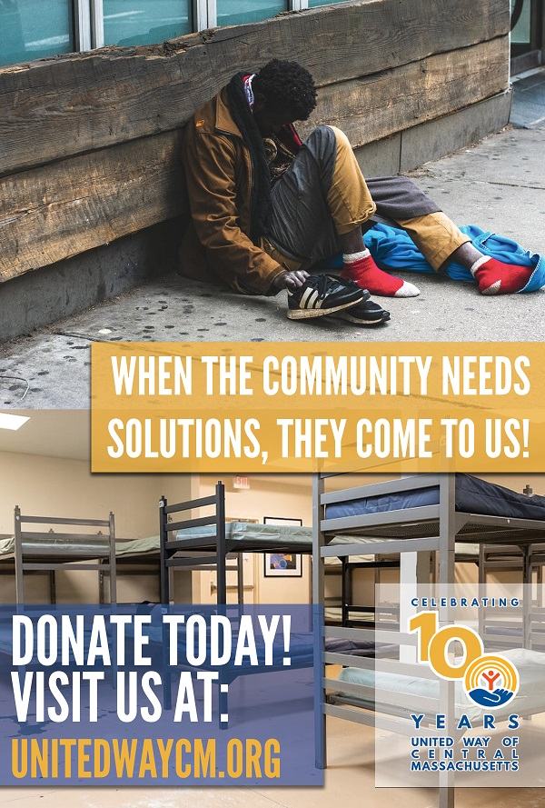 United Way Donation Poster